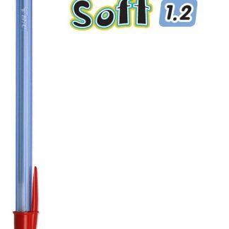 Penna Sfera Bic Cristal Soft Rosso