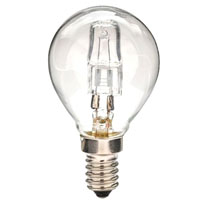 Lampada Alogena Sfera Chiara E14 W18
