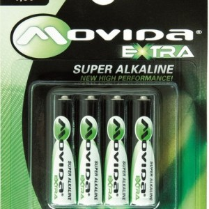 Batterie Mini Stilo AAA Alcaline LR03 Movida 4pz