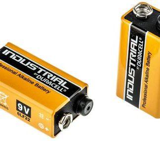 Batteria 9V Duracell Industrial Procell Alcalina Box 10pz