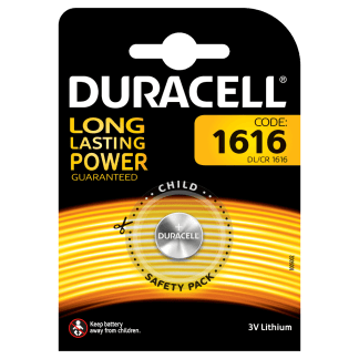 Batterie 1616 Duracell Litio 3V blister 1pz