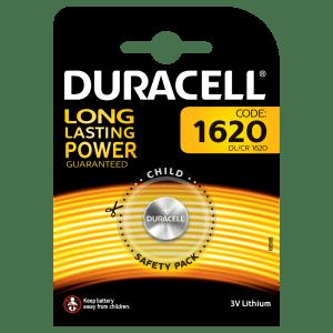Batterie 1620 Duracell Litio 3V blister 1pz