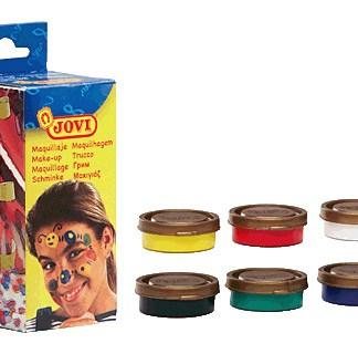 Make Up Trucco per Viso Bambini 6 barattoli colori assortiti