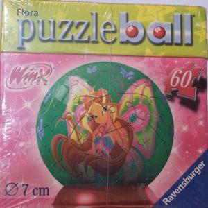 Puzzle Ball 3D Globo Winx
