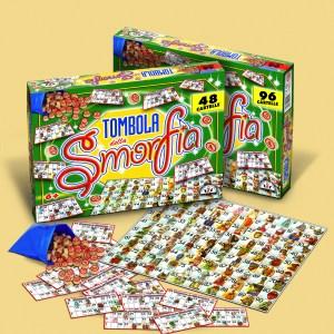 Tombola Della Smorfia 48 Cartelle - Edizione Marca Stella 54