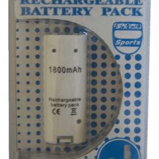 Batteria Ricaricabile Telecomando WII compatibile 1800mAh