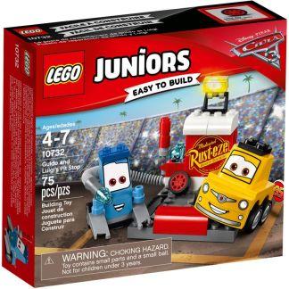LEGO Juniors Il Pit Stop di Guido e Luigi - 10732