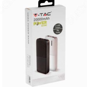 Power Bank 20000mAh 2 USB 10W