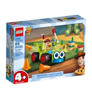 Lego Toy Story 4 Woody e RC 10766 lego juniors