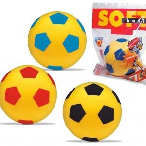 Pallone Morbido Gommapiuma Mondo 14 cm