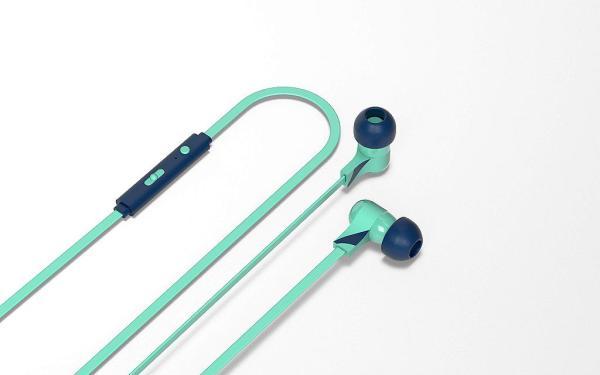 Tribe Auricolare con Microfono Swing Vespa Acquamarina In-Ear jack 3.5mm