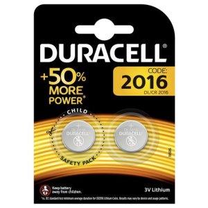 Batterie 2016 Duracell Litio 3V blister 2PZ