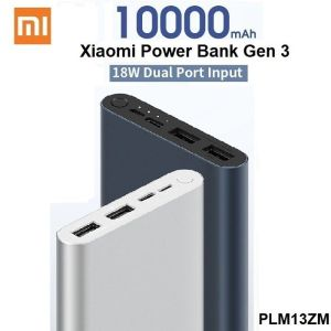 Power Bank 10000 mAh 2 USB 18W Fast Charge Xiaomi