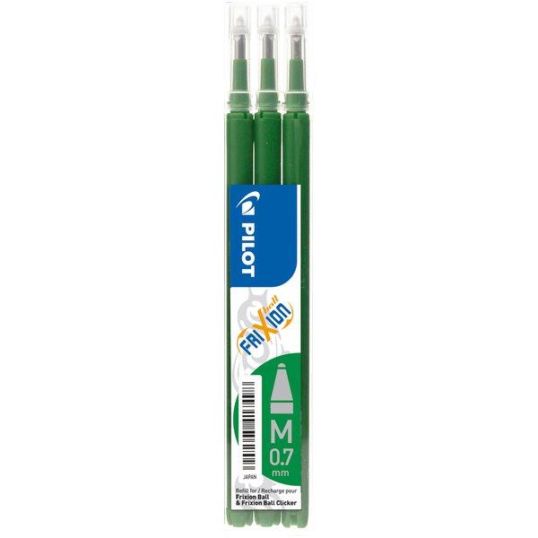 Refill Ricambio Verde FriXion inchiostro Gel Verde confezione 3 pezzi