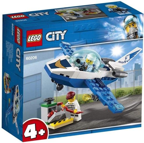 Lego City Pattugliamento della Polizia aerea 60206