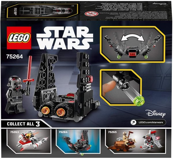 Lego Star Wars Microfighter Shuttle di Kylo Ren 75264