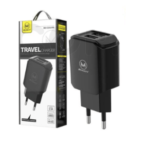 Caricatore da rete 2 USB 2100mAh Spina Travel charger