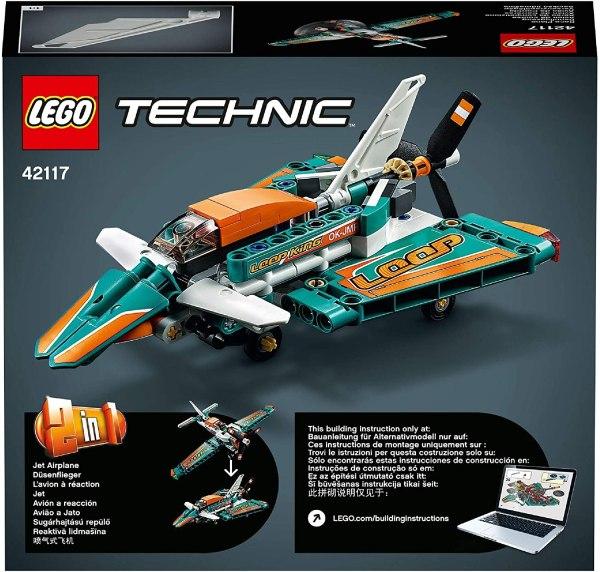 LEGO Technic Aereo da competizione - 42117 2in1