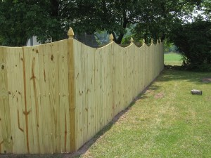 Fence Installed Before Spring