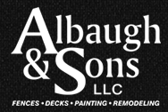 Albaugh and Sons Fencing and Decking Logo