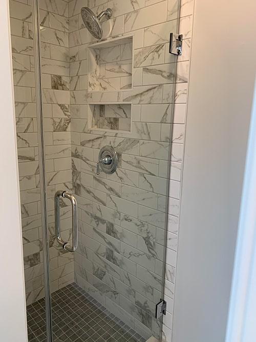 Custom Tile Shower 2