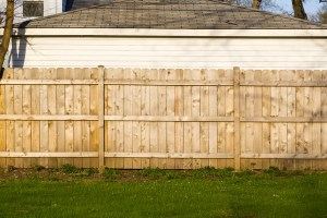 Fixing a Leaning Fence Post