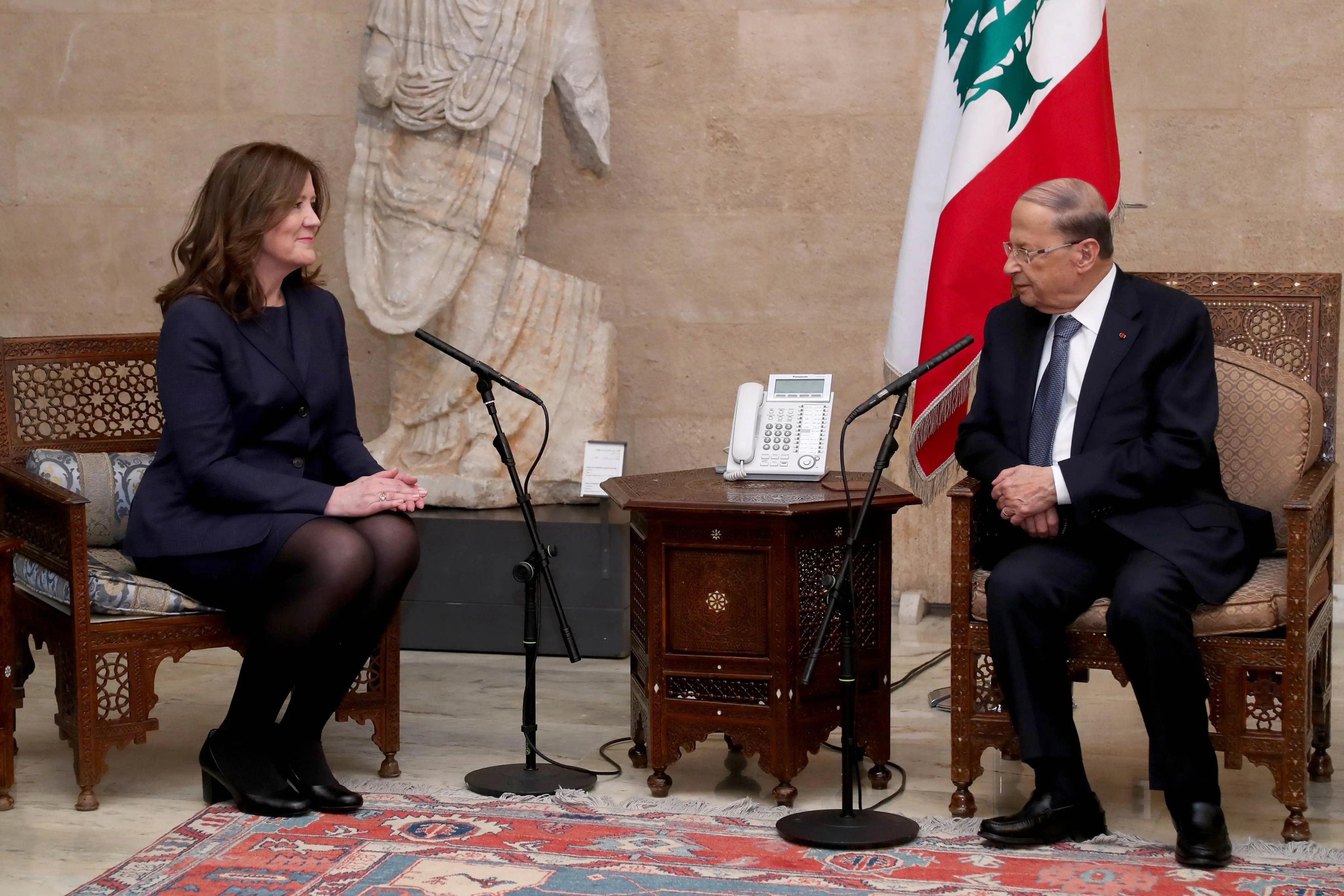"""U.S. Ambassador to Lebanon Dorothy Shea announced on Sunday that the United States plans to impose new sanctions against Hezbollah and possibly against supporters of the group, OTV local TV channel reported. """"New sanctions will be put in place starting June 1,"""" Shea said in a televised interview. Shea denied the U.S. intention to cause […]"""