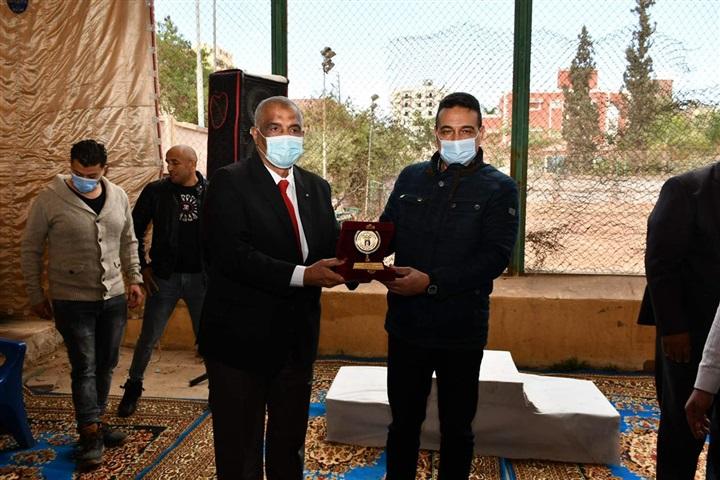 بالصور.. تكريم الفائزين ببطولة الجمهورية للملاكمة مواليد 2005