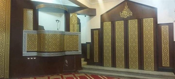 بالصور.. غدًا افتتاح مسجد الشبان بعد تجديده ببنها