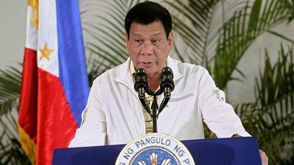 الرئيس الفلبيني رودريجو