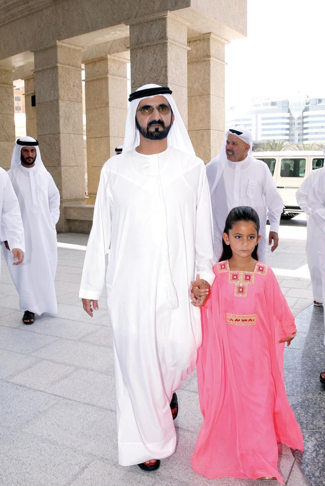 محمد بن راشد يفتتح مؤسسة الجليلة الطبية البيان