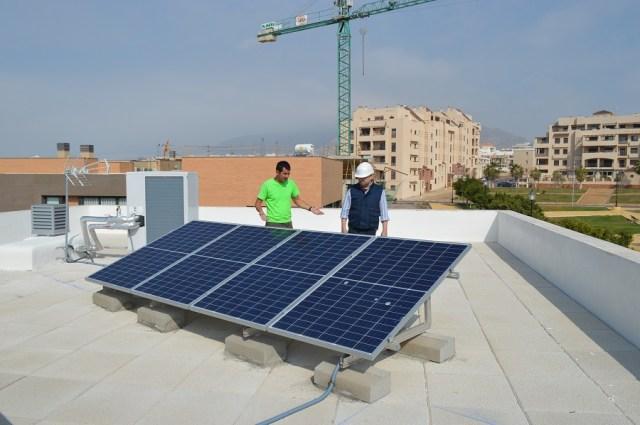 Placas solares fotovoltaicas y aerotermia
