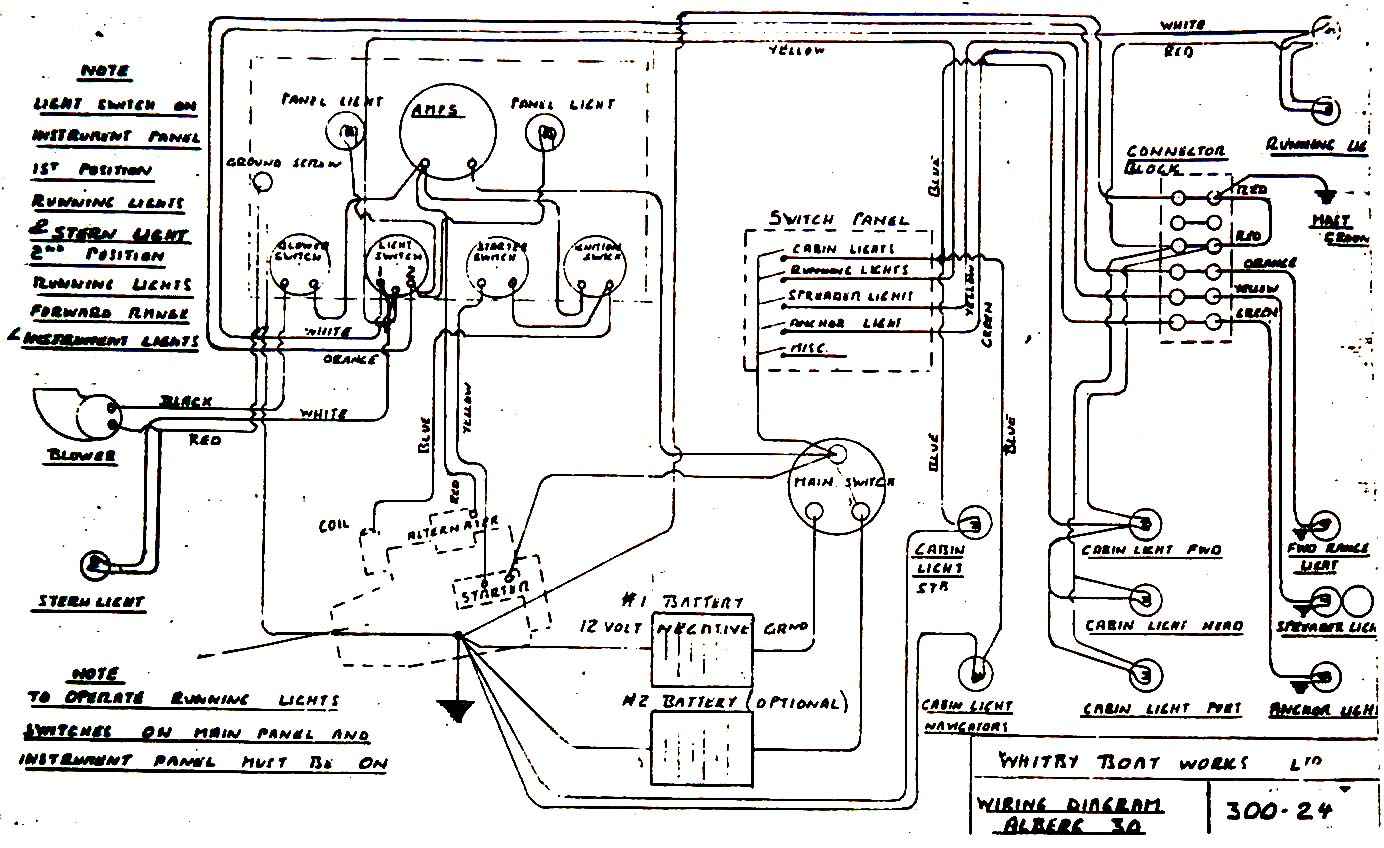 sea pro wiring diagram