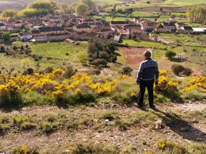 Albergue La Palaina. El entorno. Vista de El Guijar.