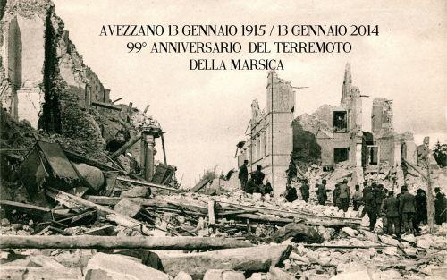 Il 99esimo anniversario del Terremoto della Marsica