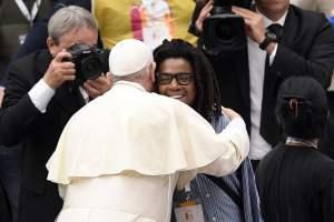 A pranzo con Papa Francesco