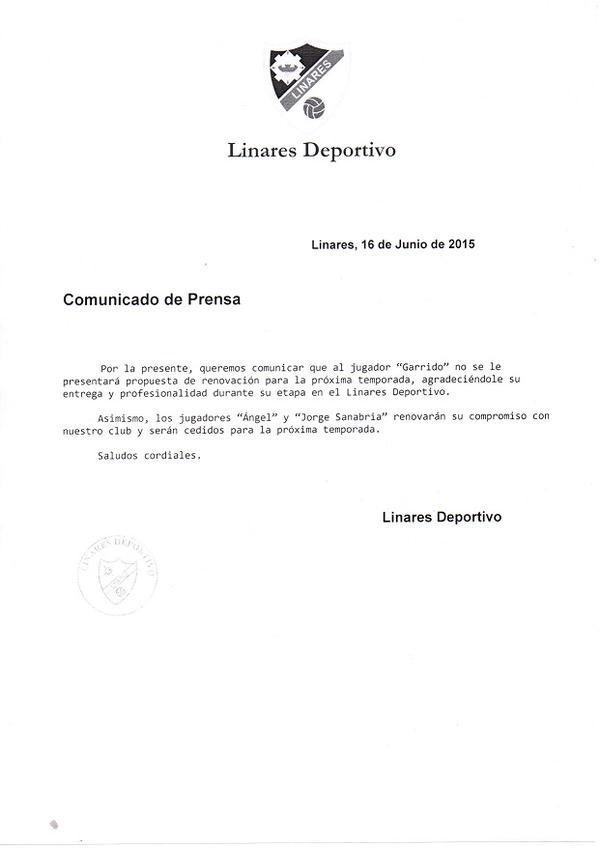 Foto: Linares Deportivo