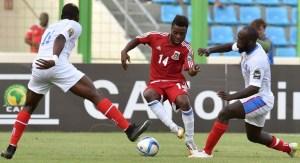 Kike Boula con su selección | diario.indalofm.com