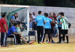 El Mogón en su anterior encuentro de liga | Fernando Cano