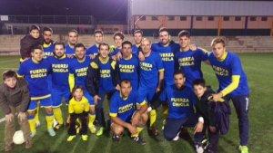 CD Navas antes del partido | CD Navas