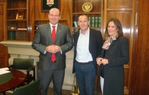 Ildefonso Ruiz se reunió con Javier Márquez y Charo Morales   Diario Jaén