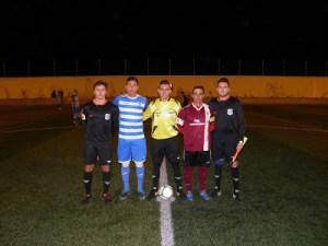 Capitanes y árbitros del Jódar - Cazorla   Blog Cazorla