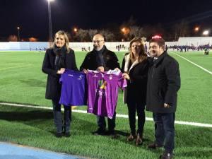 Rafa Teruel, presidente del Jaén estuvo en el acto | Ayto Baeza
