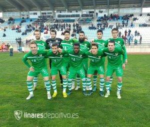 Once del Linares ante el Hoya Lorca | Linares Deportivo