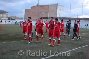 Los jugadores del Torreperogil tras vencer al Alhaurino | Radio La Loma