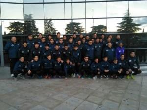 Selección de Jaén en Chiclana | FJF