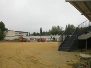 Obras en el estadio del Quesada | Quesada24horas