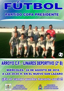 Cartel del Arroyo - Linares | CF Arroyo