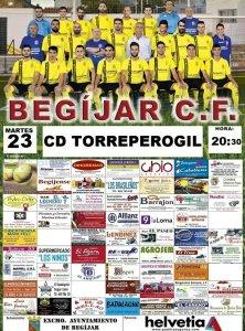 Cartel Begijar - Torreperogil | Begíjar CF