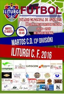 Cartel Iliturgi - Martos CD | Iliturgi CF